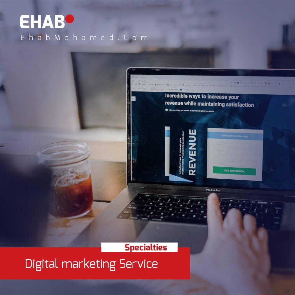 EhabMohamed.com - professional Digital marketing services in Dubai 2020