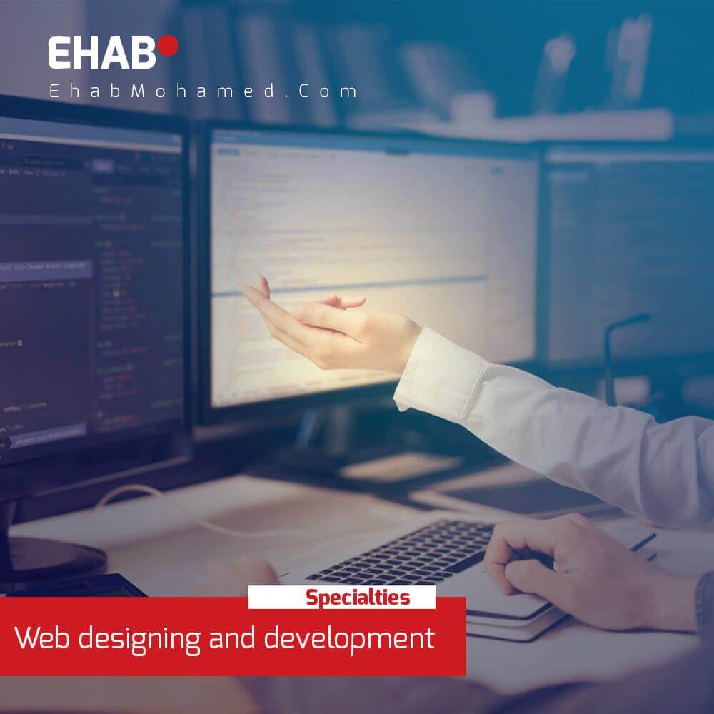 EhabMohamed.com - Web designing and development service in Dubai
